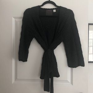 Anthropologie Wrap Sweater